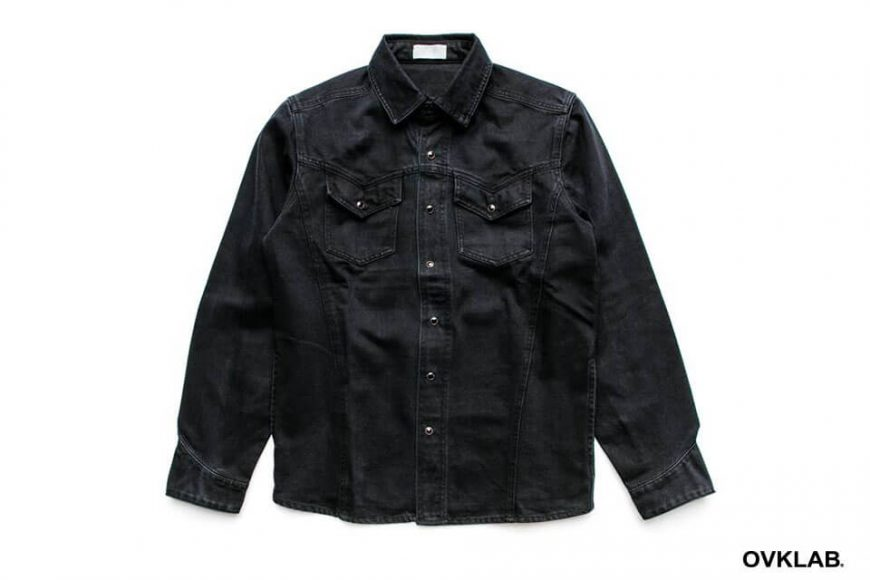 Ovklab 16 SS Dyed Denim Shirt (3)