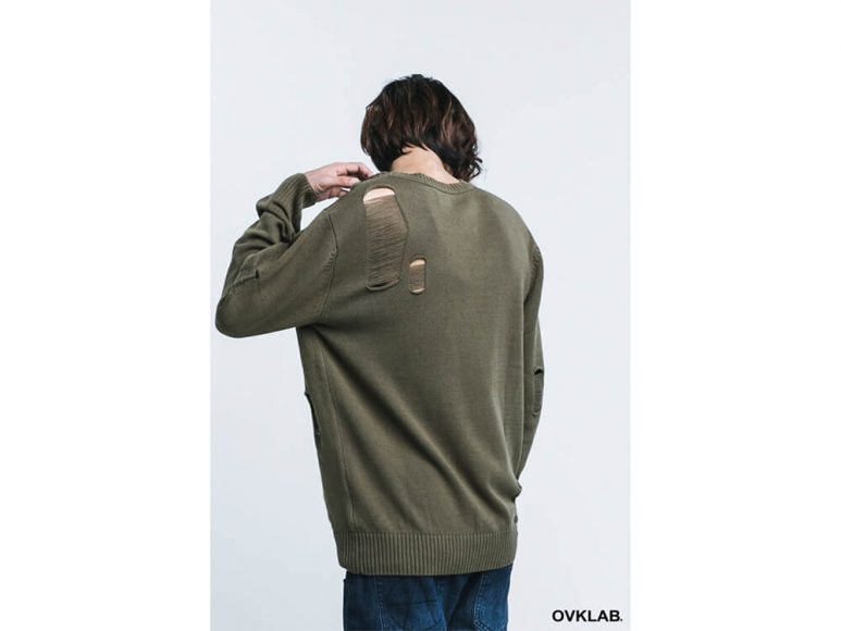 OVKLAB 16 AW Destroyed Knit Sweater (6)