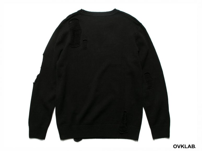 OVKLAB 16 AW Destroyed Knit Sweater (8)