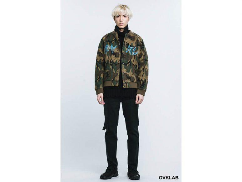 OVKLAB 16 AW Camo Varsity Jacket (1)