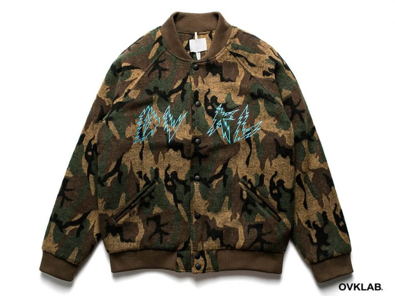 OVKLAB 16 AW Camo Varsity Jacket (4)