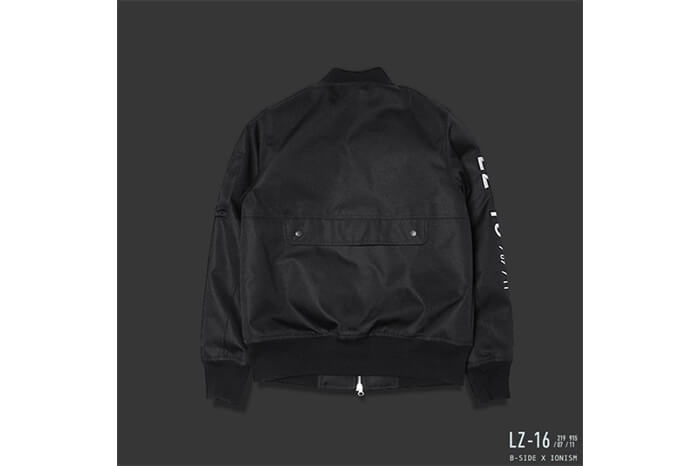 B-Side 16 AW BS X ION Oversize MA-1 Flight JKT (5)