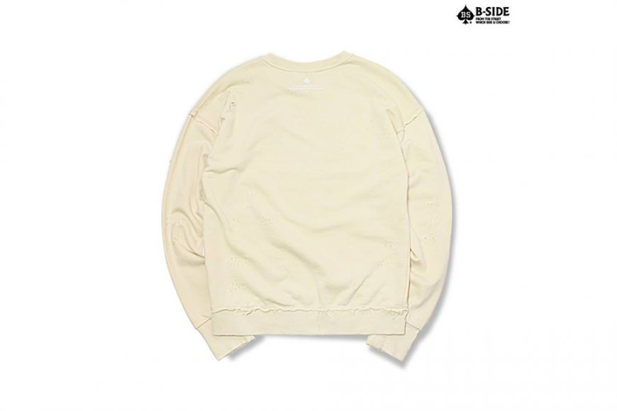 B-Side 16 FW BS Ripped Crewneck (15)