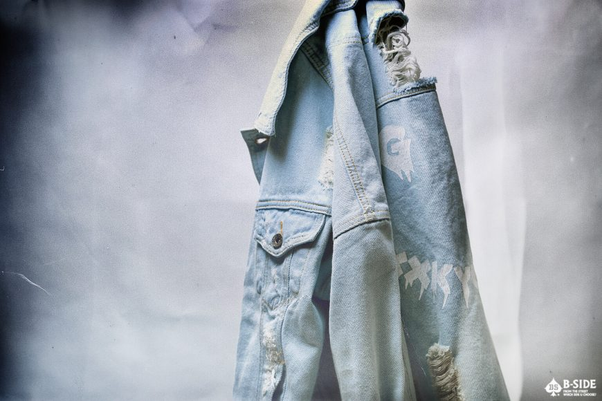 B-Side 16 FW Go Fxxk You Urself Denim JKT (1)