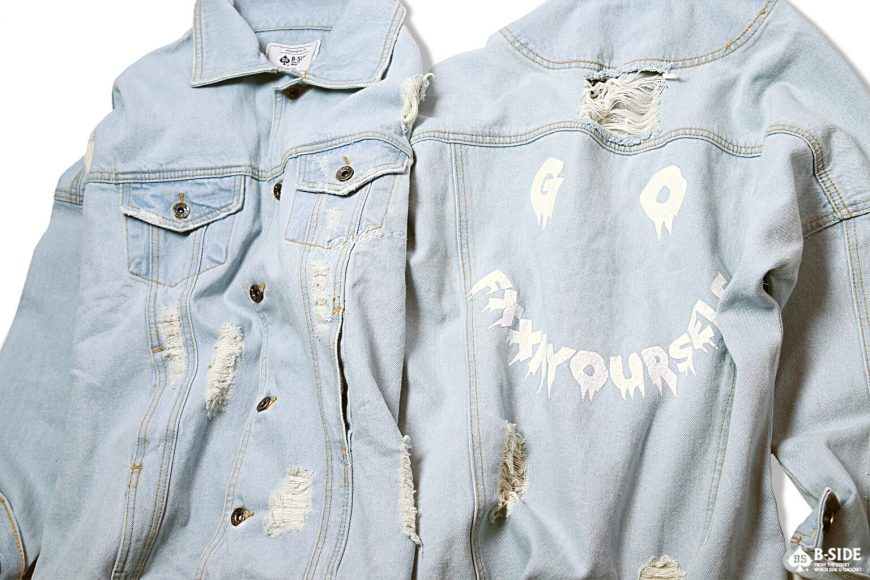 B-Side 16 FW Go Fxxk You Urself Denim JKT (13)