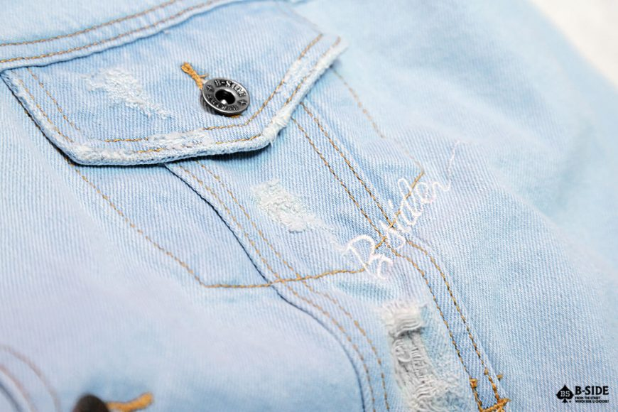 B-Side 16 FW Go Fxxk You Urself Denim JKT (5)