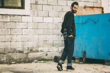 FrizmWorks 16 AW Check flannel Sweatshirt (1)