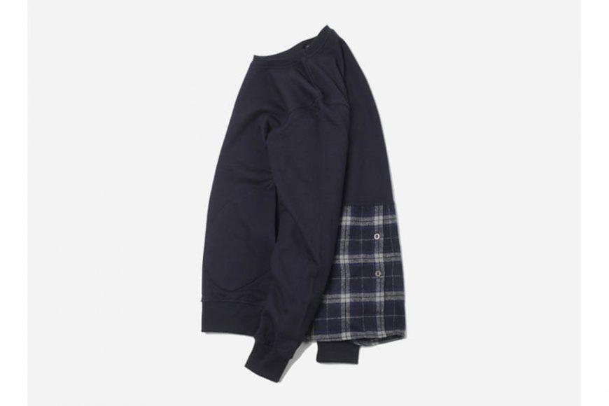 FrizmWorks 16 AW Check flannel Sweatshirt (11)