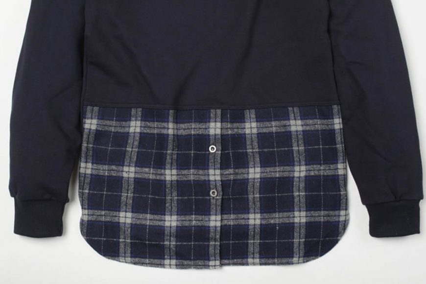FrizmWorks 16 AW Check flannel Sweatshirt (14)