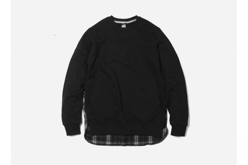 FrizmWorks 16 AW Check flannel Sweatshirt (2)