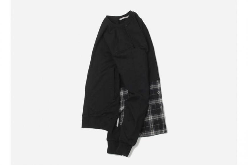 FrizmWorks 16 AW Check flannel Sweatshirt (4)