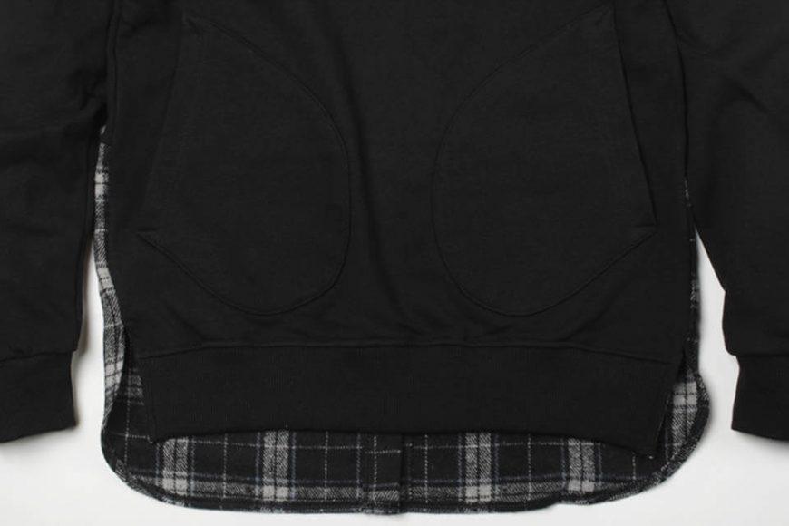 FrizmWorks 16 AW Check flannel Sweatshirt (5)