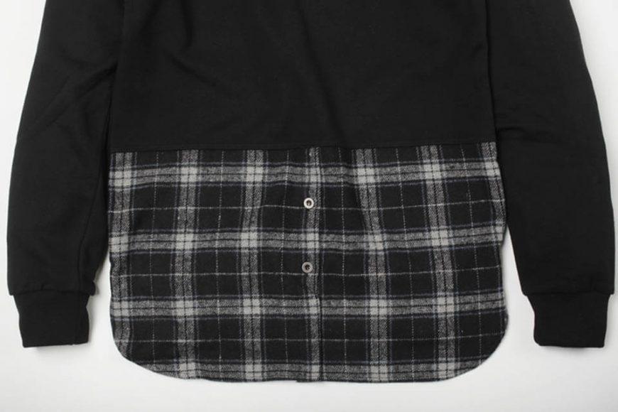 FrizmWorks 16 AW Check flannel Sweatshirt (7)