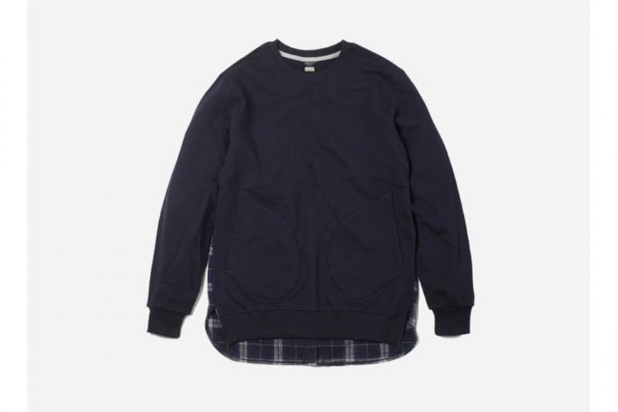 FrizmWorks 16 AW Check flannel Sweatshirt (9)