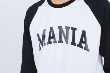 Mania 16 AW Athletic Scrip 34 Sleeve Tee (6)