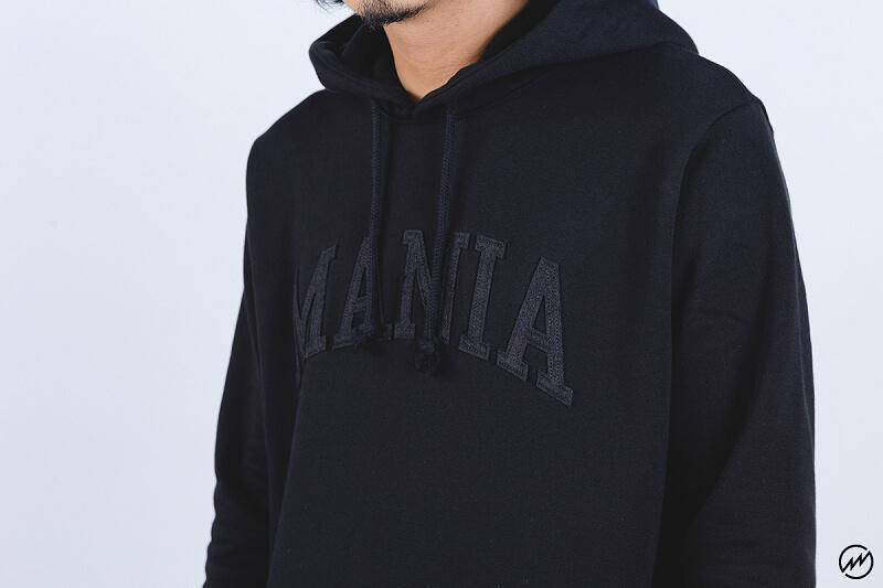 Mania 16 AW Athletlc Script Hoodie (2)