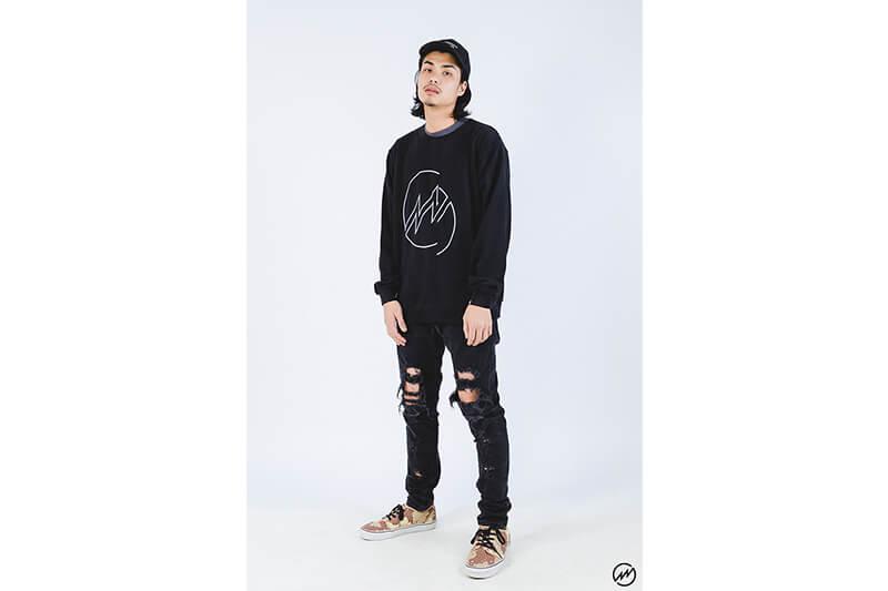 Mania 16 AW Big Lighting Sweatshirt (3)