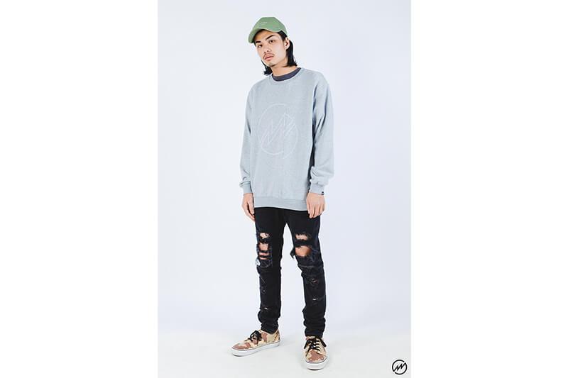 Mania 16 AW Big Lighting Sweatshirt (6)