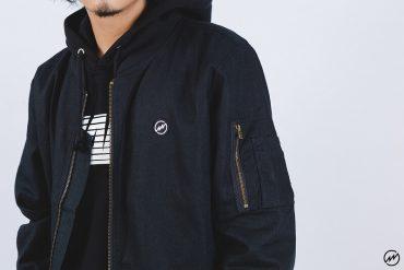 Mania 16 AW Linen MA1 Jacket (1)