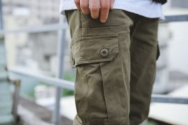 NextMobRiot 16 FW Cargo Army Pants (7)