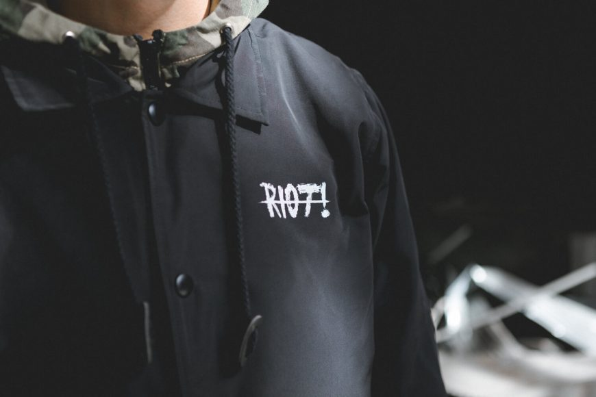 NextMobRiot 16 FW Riot! Coach Jacket (5)