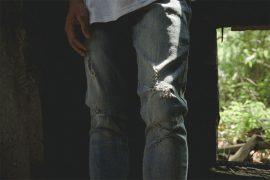 NextMobRiot 16 FW Skinny Elasticty Torn Jeans (4)