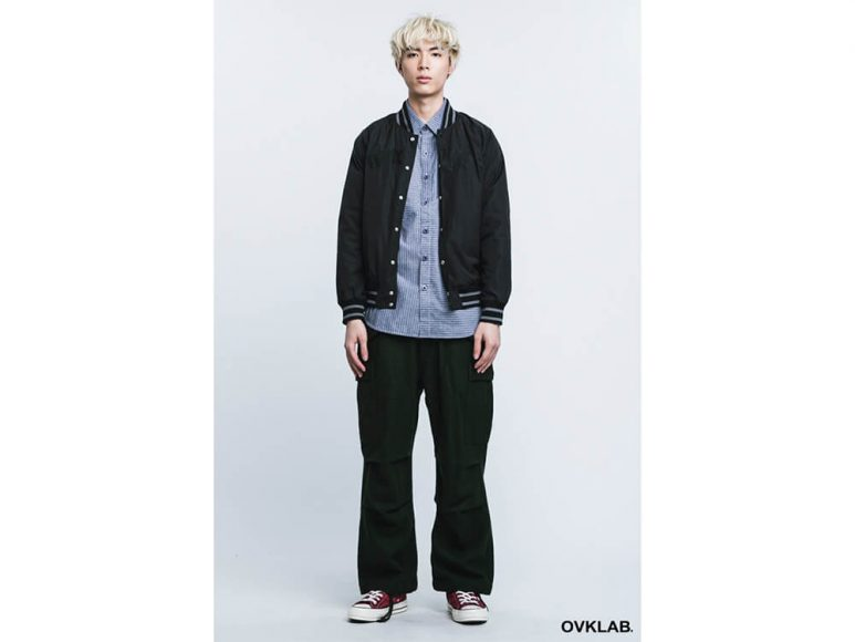 OVKLAB 16 AW Basic Baseball Jacket (1)