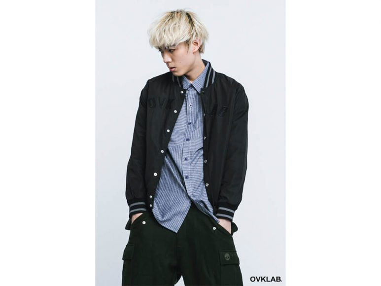 OVKLAB 16 AW Basic Baseball Jacket (2)