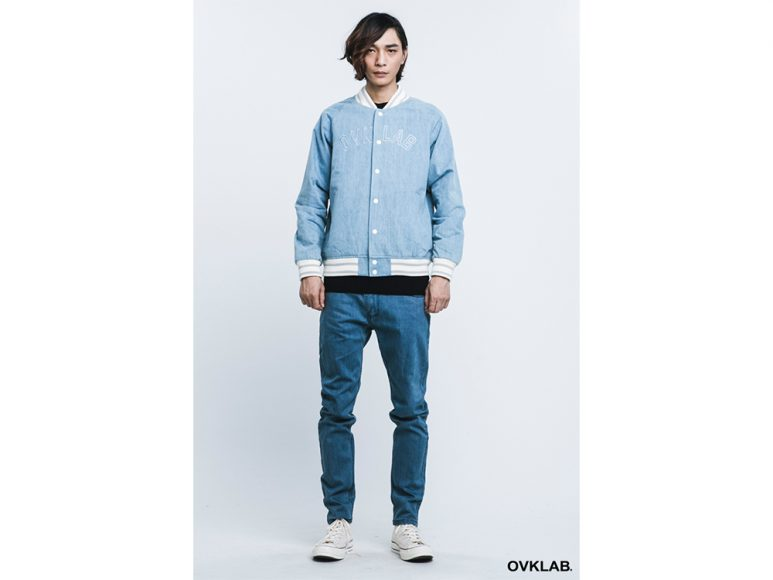 OVKLAB 16 AW Basic Baseball Jacket (4)