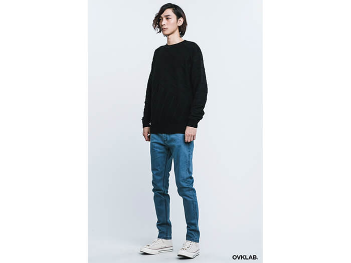 OVKLAB 16 AW Cable Knit Sweater (1)