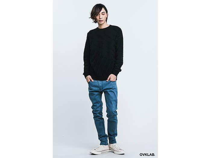 OVKLAB 16 AW Cable Knit Sweater (2)