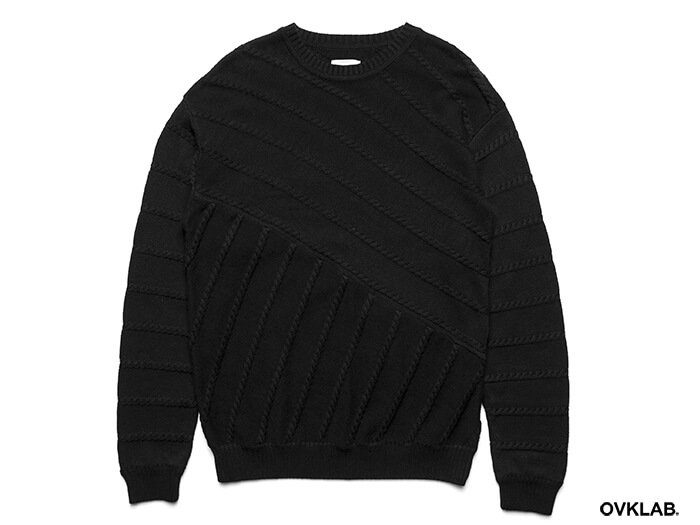 OVKLAB 16 AW Cable Knit Sweater (6)