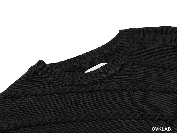 OVKLAB 16 AW Cable Knit Sweater (7)