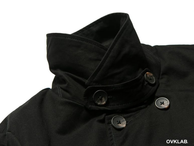 OVKLAB 16 AW Coffin Peacoat (6)