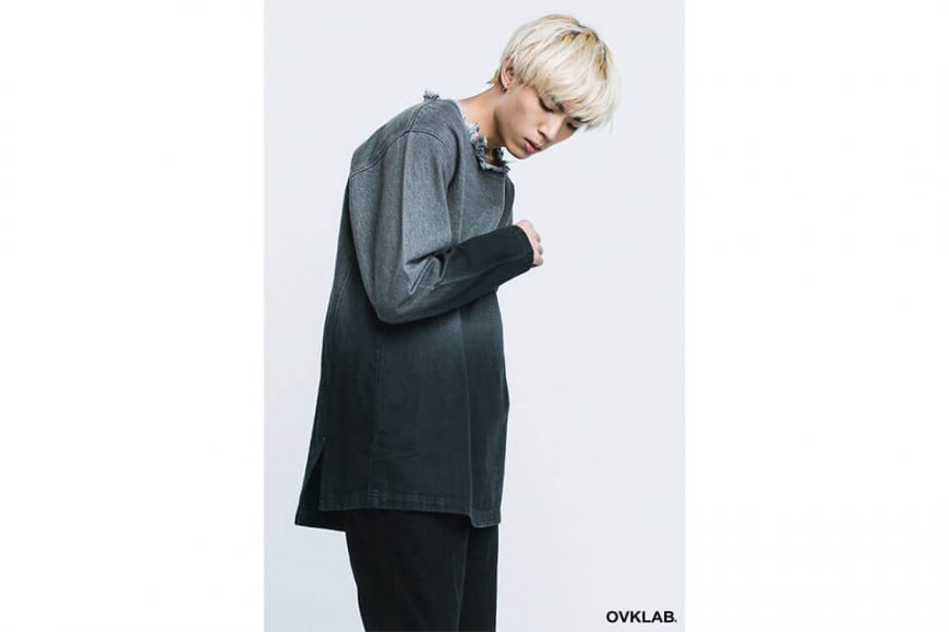 OVKLAB 16 AW Denim Pullover Shirt (3)