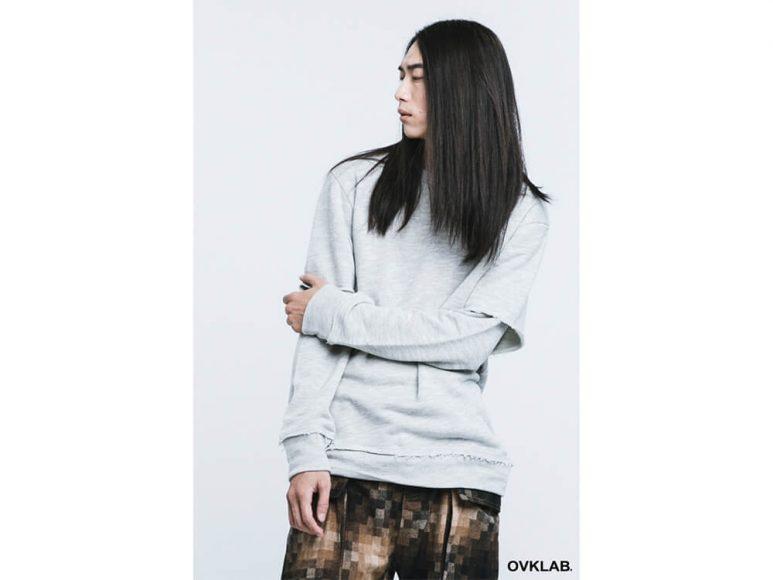 OVKLAB 16 AW Layered Sweatshirt (5)