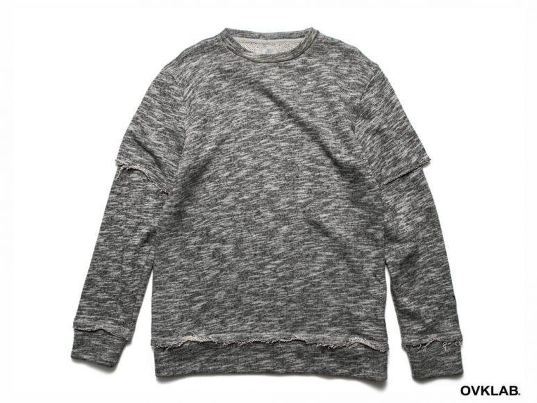 OVKLAB 16 AW Layered Sweatshirt (7)