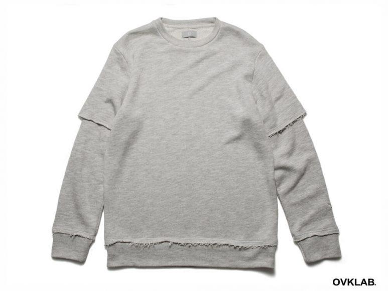 OVKLAB 16 AW Layered Sweatshirt (8)