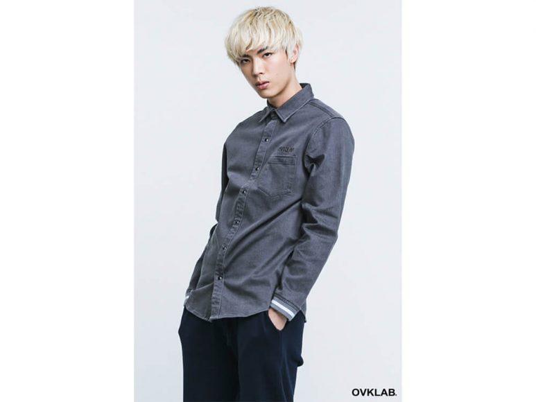 OVKLAB 16 AW Rib Cuff Shirt (3)