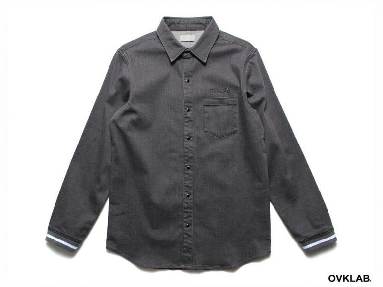 OVKLAB 16 AW Rib Cuff Shirt (4)