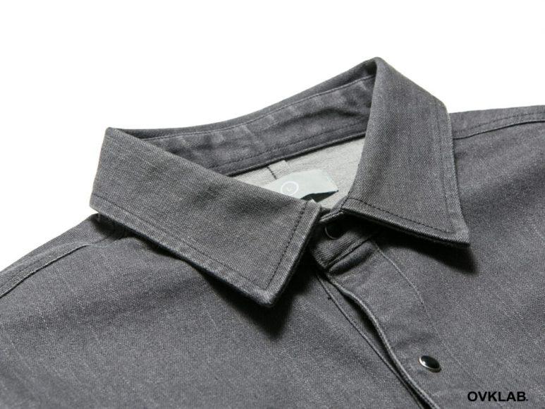 OVKLAB 16 AW Rib Cuff Shirt (5)