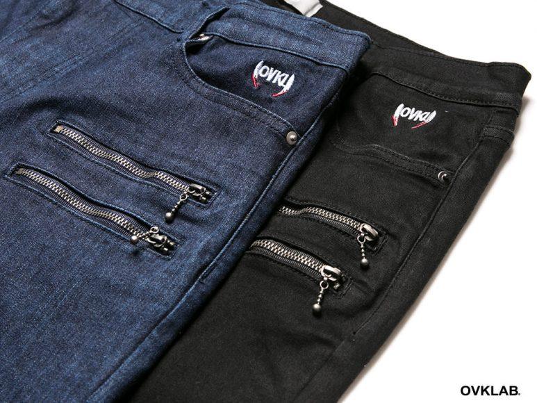 OVKLAB 16 AW Rider Skinny Jeans (9)