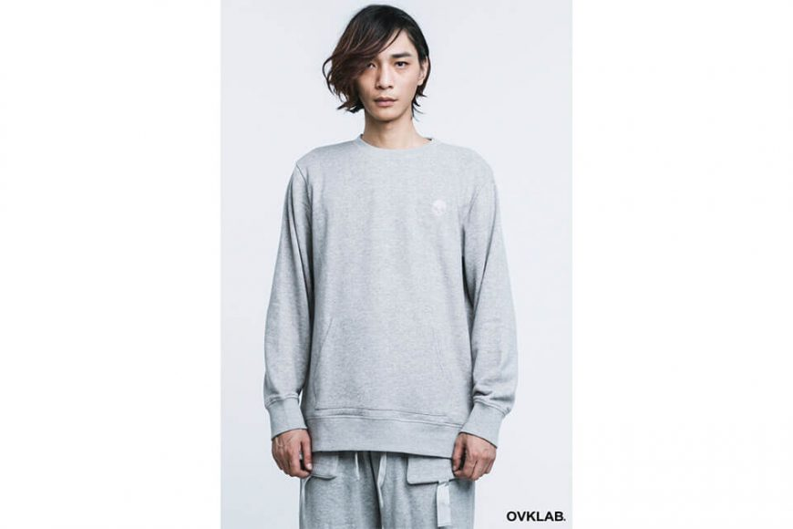 OVKLAB 16 SS Basic Pocket Sweatshirt (2)