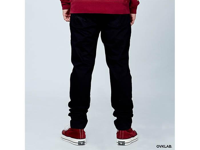OVKLAB 17 SS Zipper Skinny Denim Jeans (4)