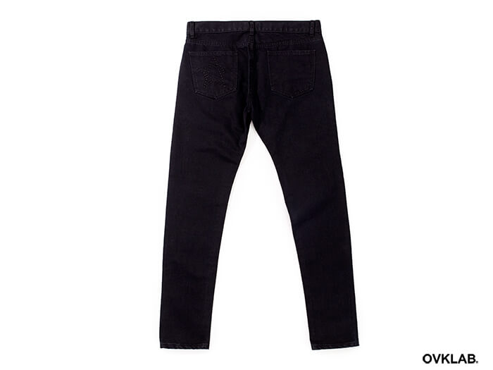 OVKLAB 17 SS Zipper Skinny Denim Jeans (6)