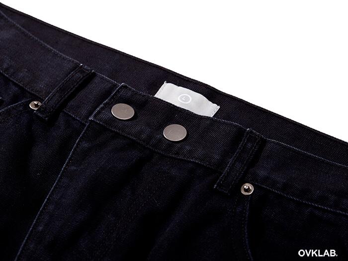 OVKLAB 17 SS Zipper Skinny Denim Jeans (7)