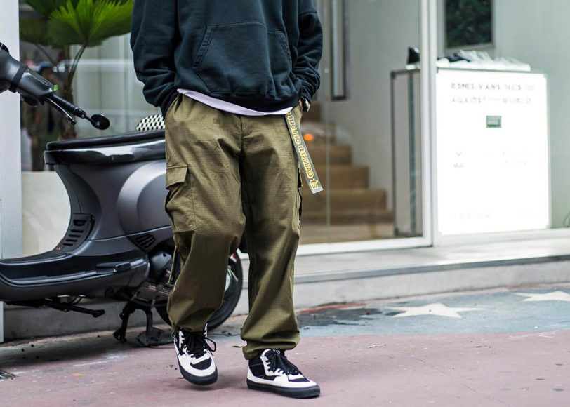 Remix 16 AW Mil Cargo Pants (1)