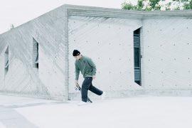 Remix 16 AW RR Half Zip Sweatshirt (1)