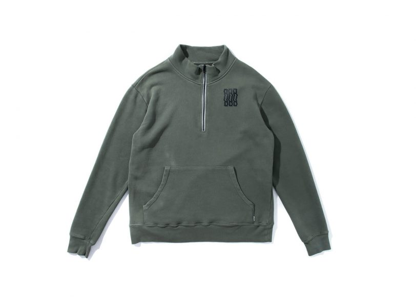Remix 16 AW RR Half Zip Sweatshirt (14)
