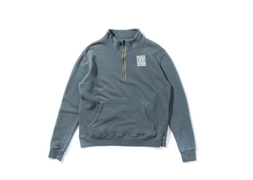 Remix 16 AW RR Half Zip Sweatshirt (8)